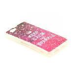 Gélové puzdro pre Sony Xperia Z1 Compact D5503 - Keep Calm and Sparkle - 2/2