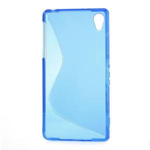 Gélové S-line puzdro pre Sony Xperia Z2 D6503- modré - 2