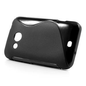Gélové S-line puzdro pre HTC Desire 200- čierné - 2