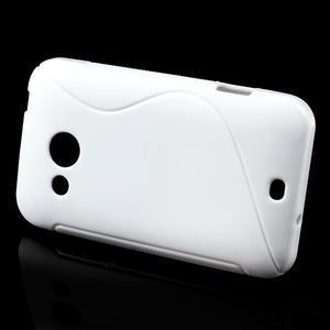 Gélové S-line puzdro pre HTC Desire 200- biele - 2