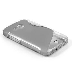 Gélové S-line puzdro pre HTC Desire 200- šedé - 2