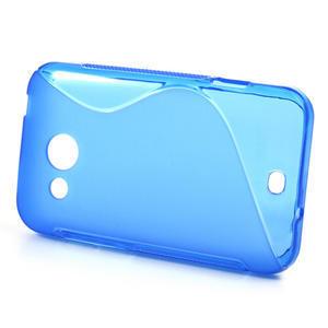 Gélové S-line puzdro pre HTC Desire 200- modré - 2