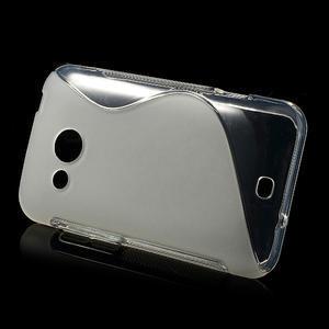 Gélové S-line puzdro pre HTC Desire 200- transparentný - 2