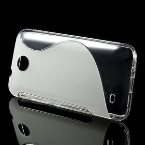 Gélové S-line puzdro pre HTC Desire 300 Zara mini- transparentný - 2