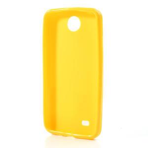 Gélové puzdro pre HTC Desire 300 Zara mini -žlté - 2