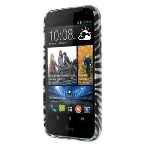 Gélové puzdro pre HTC Desire 310- zebrované - 2