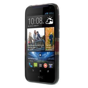 Gélové puzdro pre HTC Desire 310- UK vlajka - 2