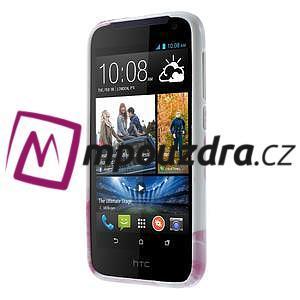 Gélové puzdro na HTC Desire 310- dvě srdce - 2