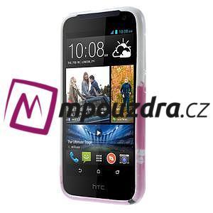 Gélové puzdro pre HTC Desire 310- kvitnúca vetva - 2