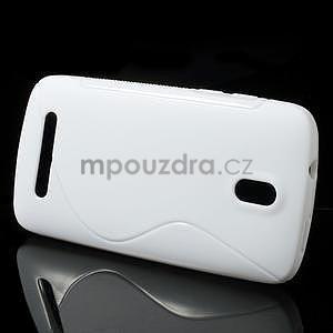Gélové puzdro pre HTC Desire 500- biele - 2