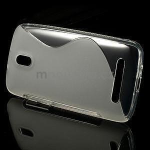 Gélové puzdro pre HTC Desire 500- transparentný - 2
