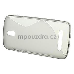 Gélové puzdro pre HTC Desire 500- šedé - 2