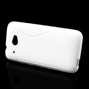 Gelove S-line puzdro pre HTC Desire 601- biele - 2