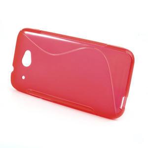 Gelove S-line puzdro pre HTC Desire 601- červené - 2