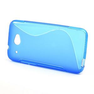 Gelove S-line puzdro pre HTC Desire 601- modré - 2