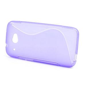 Gelove S-line puzdro pre HTC Desire 601- fialové - 2