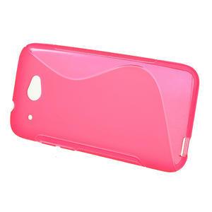 Gelove S-line puzdro pre HTC Desire 601- růžové - 2