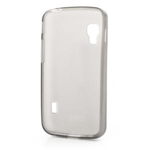 Matné gélové puzdro pre LG Optimus L5 Dual E455- sivé - 2