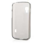 Matné gélové puzdro pre LG Optimus L5 Dual E455- sivé - 2/4
