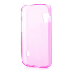 Matné gélové puzdro pre LG Optimus L5 Dual E455- ružové - 2