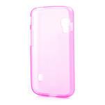 Matné gélové puzdro pre LG Optimus L5 Dual E455- ružové - 2/4