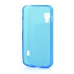 Matné gélové puzdro pre LG Optimus L5 Dual E455- modré - 2/4