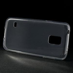 Gélové 0.6mm puzdro pre Samsung Galaxy S5 mini G-800- transparentný - 2