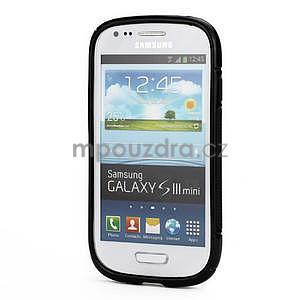 Čierné gélové puzdro pre Samsung Galaxy S3 mini / i8190 - 2