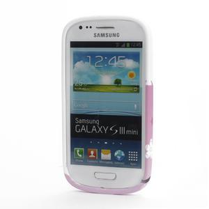 Gélové puzdro pre Samsung Galaxy S3 mini i8190- květiny - 2