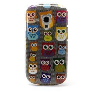 Gélové puzdro pre Samsung Galaxy S3 mini / i8190 - mini Sovy - 2
