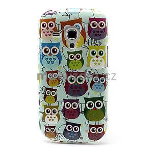 Gélové puzdro pre Samsung Galaxy S3 mini / i8190 - mini Sovy II - 2