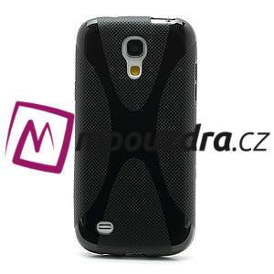 Gelové X pouzdro pro Samsung Galaxy S4 mini i9190- černé - 2