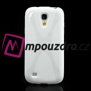 Gelové X pouzdro pro Samsung Galaxy S4 mini i9190- bílé - 2