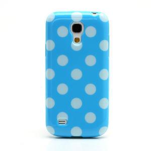 Gélový Puntík pro Samsung Galaxy S4 mini i9190- modrá - 2