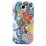 Gelové pouzdro pro Samsung Galaxy S4 mini i9190- barevné květy - 2/5