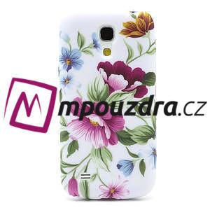 Gélové puzdro pro Samsung Galaxy S4 mini i9190- kvetinka - 2