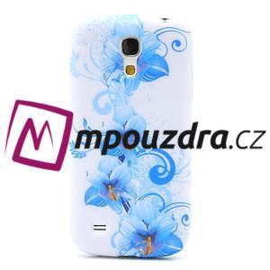 Gélové puzdro pro Samsung Galaxy S4 mini i9190- modrá lilie - 2