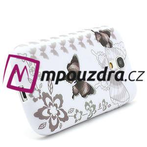 Gelové pouzdro pro Samsung Galaxy S4 mini i9190- elegantní motýl - 2