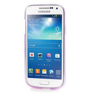 Gélové puzdro na Samsung Galaxy S4 mini i9190- fialové - 2