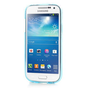 Gélové puzdro na Samsung Galaxy S4 mini i9190- modré - 2