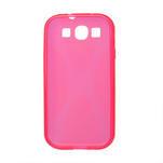 Gélové puzdro pro Samsung Galaxy S3 i9300 - X-line ružové - 2/2