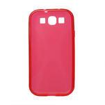 Gélové puzdro pro Samsung Galaxy S3 i9300 - X-line červené - 2/2