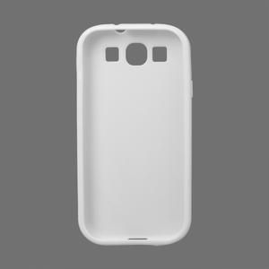 Gélové puzdro pro Samsung Galaxy S3 i9300  - X-line biele - 2