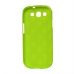 Puntíkové pouzdro pro Samsung Galaxy S3I i9300 - zelené - 2/3