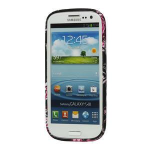 Gélové puzdro pre Samsung Galaxy S3 i9300 - MOTÝL - 2