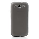 Gélové rámované puzdro pre Samsung Galaxy S3 i9300- šedé - 2/7