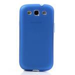 Gelové rámované pouzdro na Samsung Galaxy S3 i9300- modré - 2/6