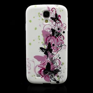 Gélové puzdro pro Samsung Galaxy S4 i9500- vlající motýl - 2