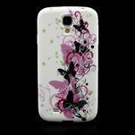 Gelové pouzdro pro Samsung Galaxy S4 i9500- vlající motýl - 2/4