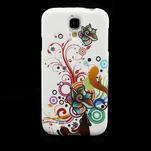 Gélové puzdro pro Samsung Galaxy S4 i9500- farebná kvetina - 2/7